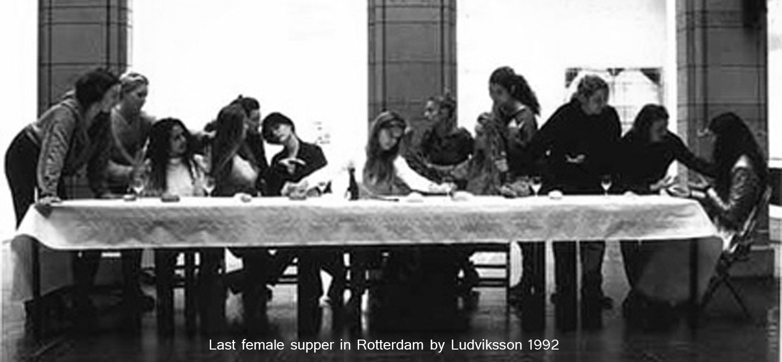 Performance Last Female Supper Rotterdam